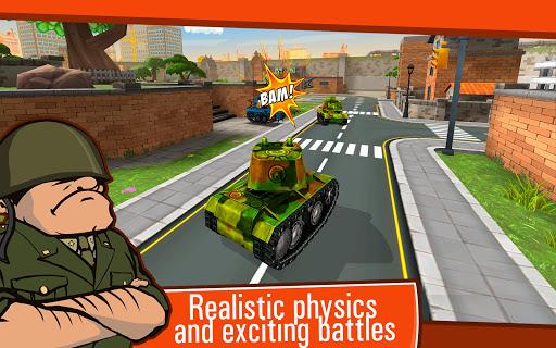 Toon Wars Awesome PvP Tank Games v3.62.5 screenshots 9