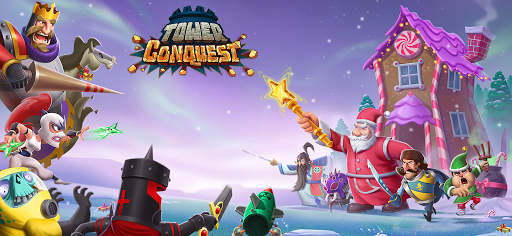 Tower Conquest Tower Defense Strategy Games v22.00.66g screenshots 1
