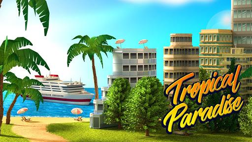 Tropic Paradise Sim Town Building Game v1.5.3 screenshots 1