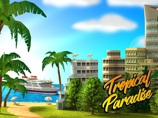 Tropic Paradise Sim Town Building Game v1.5.3 screenshots 15