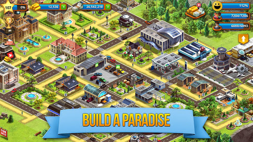 Tropic Paradise Sim Town Building Game v1.5.3 screenshots 2
