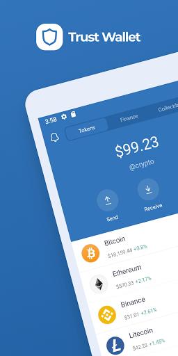 Trust Crypto amp Bitcoin Wallet v screenshots 1
