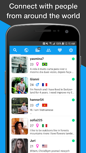Unbordered – Foreign Friend Chat v6.2.7 screenshots 1
