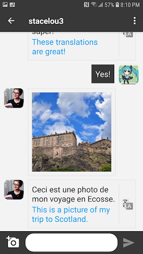 Unbordered – Foreign Friend Chat v6.2.7 screenshots 2