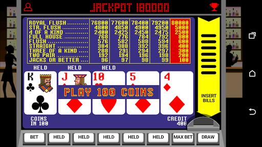 Video Poker Jackpot v4.16 screenshots 1