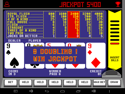 Video Poker Jackpot v4.16 screenshots 7