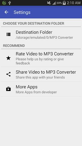 Video to MP3 Converter – MP3 Tagger v1.6.5 screenshots 4