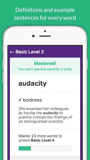 Vocabulary Builder – Test Prep v3.3.0 screenshots 10
