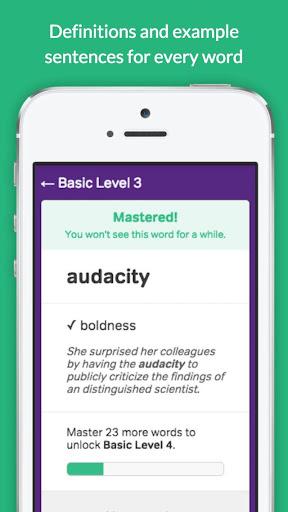 Vocabulary Builder – Test Prep v3.3.0 screenshots 2