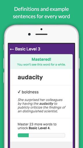Vocabulary Builder – Test Prep v3.3.0 screenshots 4