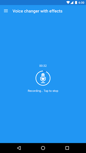 Voice changer with effects v3.7.7 screenshots 1