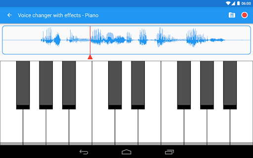 Voice changer with effects v3.7.7 screenshots 11