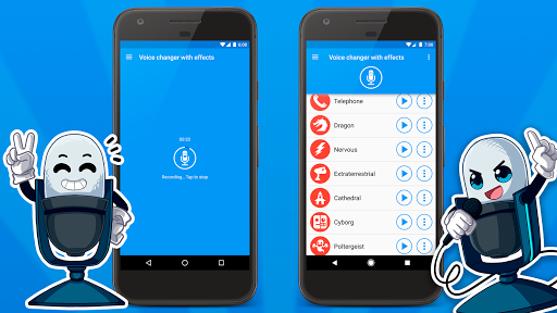 Voice changer with effects v3.7.7 screenshots 4