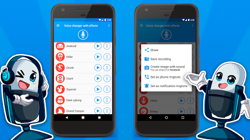 Voice changer with effects v3.7.7 screenshots 5