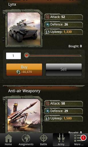 War Game – Combat Strategy Online v4.1.0 screenshots 12