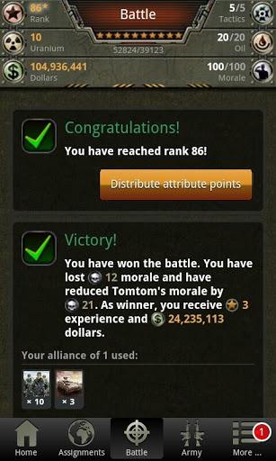 War Game – Combat Strategy Online v4.1.0 screenshots 2