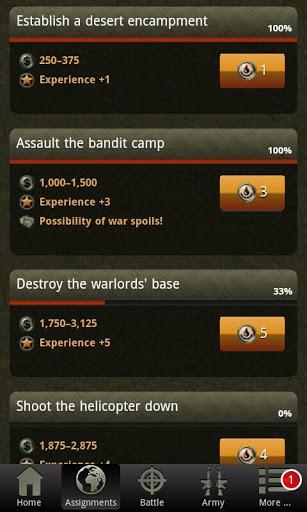 War Game – Combat Strategy Online v4.1.0 screenshots 6