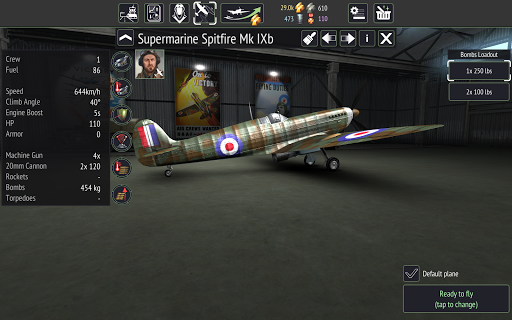 Warplanes WW2 Dogfight v2.1.1 screenshots 16
