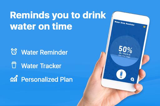 WaterBy Water Drink Tracker Reminder amp Alarm v1.8.1 screenshots 1