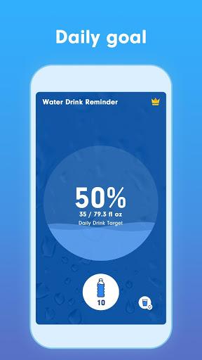 WaterBy Water Drink Tracker Reminder amp Alarm v1.8.1 screenshots 2