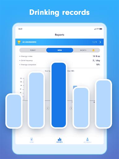 WaterBy Water Drink Tracker Reminder amp Alarm v1.8.1 screenshots 6
