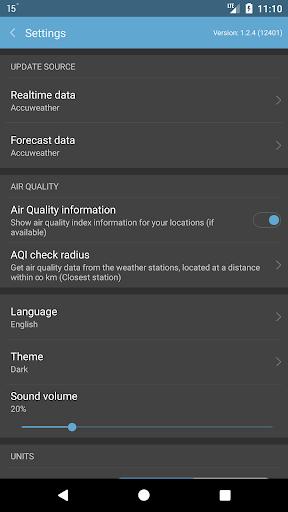 Weather Mate Weather M8 v1.6.7 screenshots 4