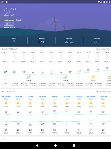 Weather Mate Weather M8 v1.6.7 screenshots 7