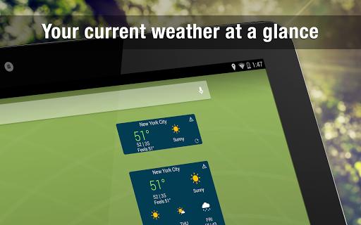Weather Widget by WeatherBug Alerts amp Forecast v3.0.2.4 screenshots 11