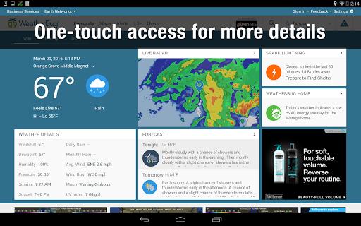 Weather Widget by WeatherBug Alerts amp Forecast v3.0.2.4 screenshots 12