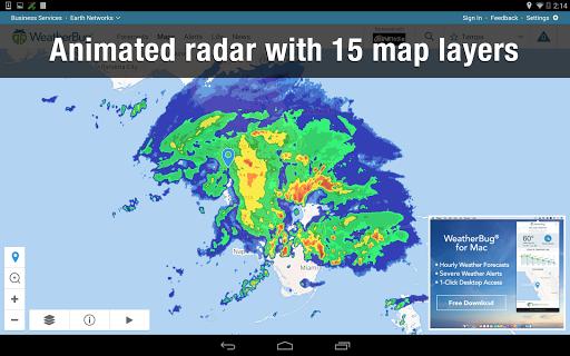 Weather Widget by WeatherBug Alerts amp Forecast v3.0.2.4 screenshots 13