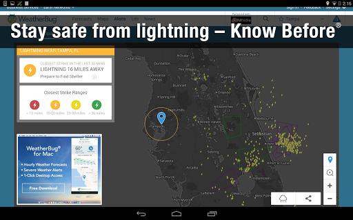 Weather Widget by WeatherBug Alerts amp Forecast v3.0.2.4 screenshots 14