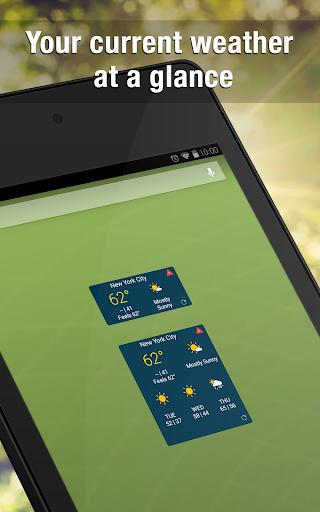 Weather Widget by WeatherBug Alerts amp Forecast v3.0.2.4 screenshots 5
