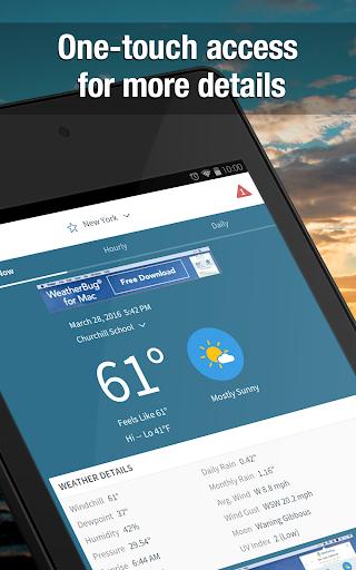 Weather Widget by WeatherBug Alerts amp Forecast v3.0.2.4 screenshots 6