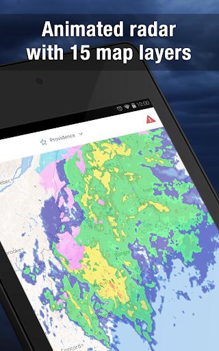 Weather Widget by WeatherBug Alerts amp Forecast v3.0.2.4 screenshots 7