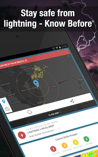 Weather Widget by WeatherBug Alerts amp Forecast v3.0.2.4 screenshots 8