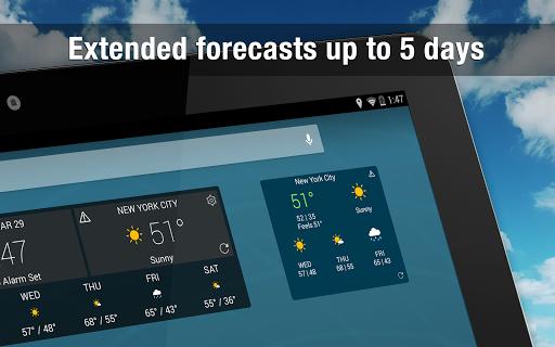 Weather Widget by WeatherBug Alerts amp Forecast v3.0.2.4 screenshots 9
