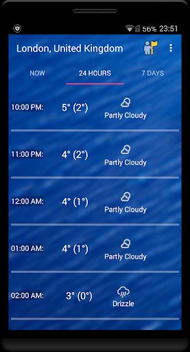 Weekly Weather Forecast v1.9.6 screenshots 2