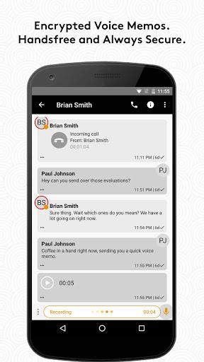 Wickr Me Private Messenger v5.76.5 screenshots 2