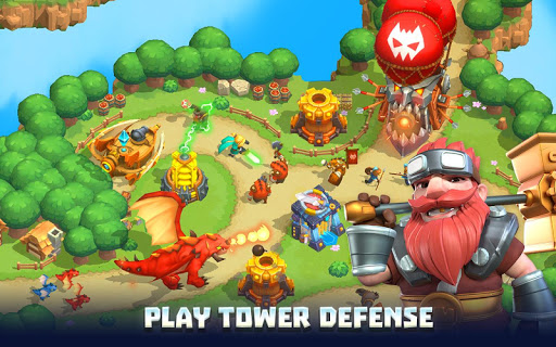 Wild Sky TD Tower Defense Kingdom Legends in 2021 v1.48.11 screenshots 1