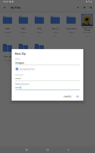 WinZip Zip UnZip Tool v6.1.1 screenshots 4