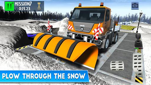 Winter Ski Park Snow Driver v1.0.3 screenshots 1