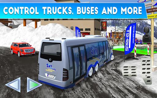 Winter Ski Park Snow Driver v1.0.3 screenshots 10