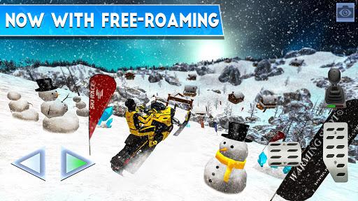 Winter Ski Park Snow Driver v1.0.3 screenshots 3