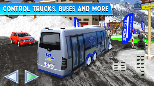 Winter Ski Park Snow Driver v1.0.3 screenshots 4