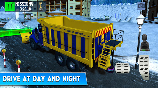 Winter Ski Park Snow Driver v1.0.3 screenshots 5