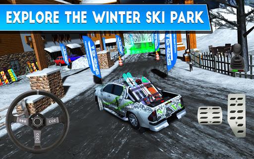 Winter Ski Park Snow Driver v1.0.3 screenshots 8