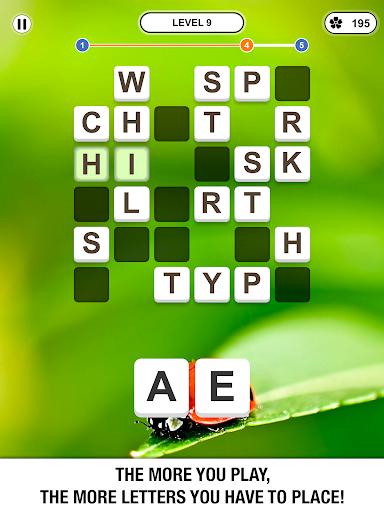 Word Crossing Crossword Puzzle v2.4.6 screenshots 5