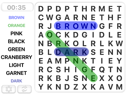 Word Search Games in english v9.21 screenshots 1