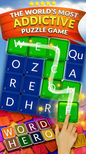 WordHero best word finding puzzle game v13.5.0 screenshots 1