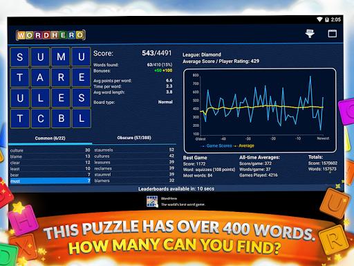 WordHero best word finding puzzle game v13.5.0 screenshots 10